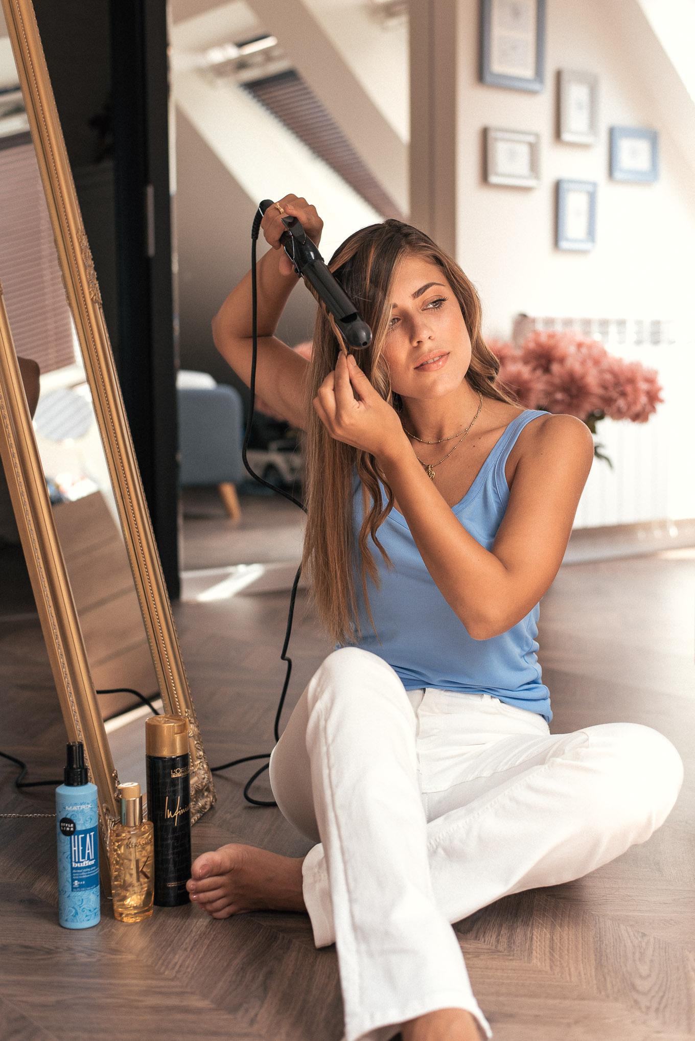 Denina Martin hair care