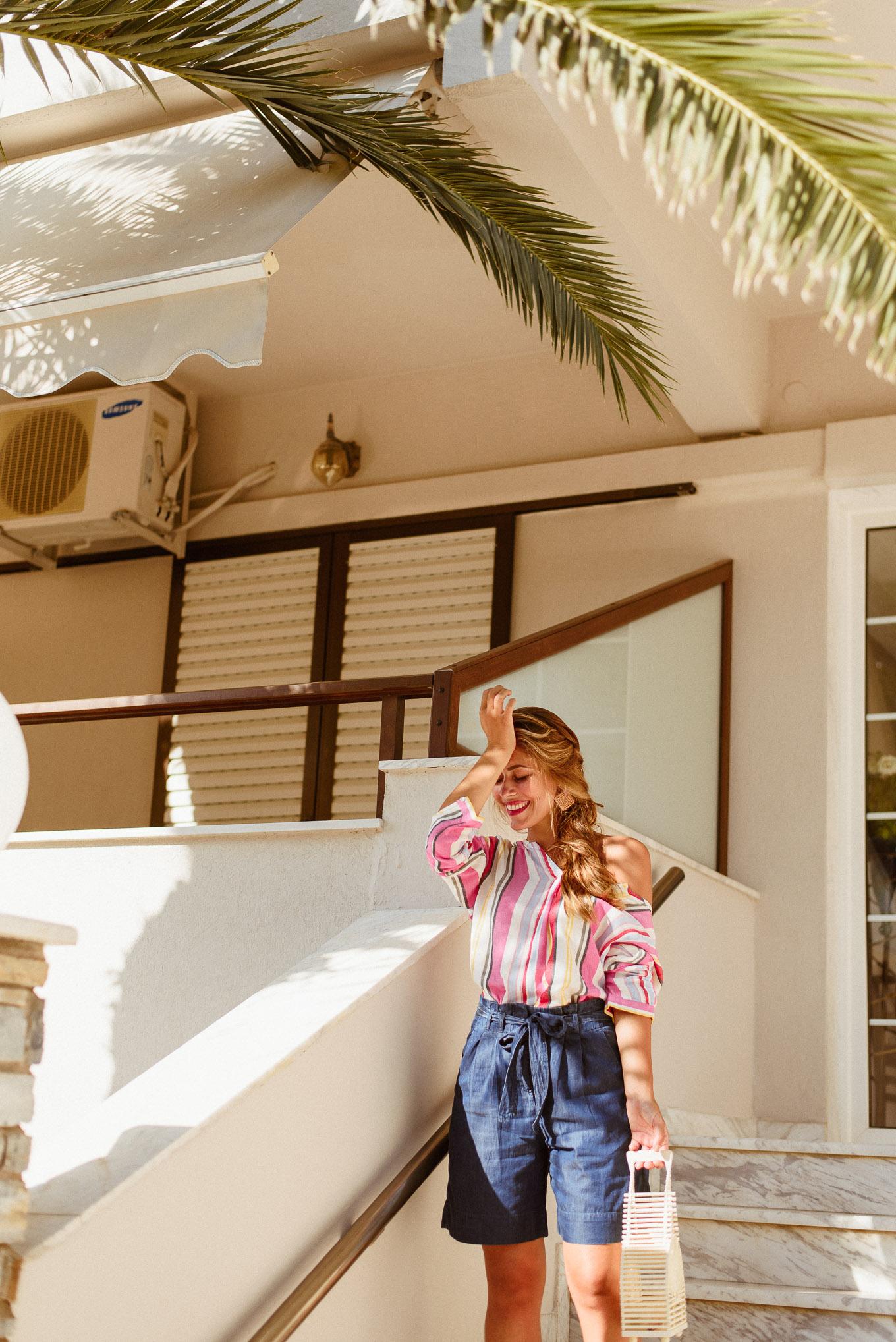Mediterranean fashion blogger