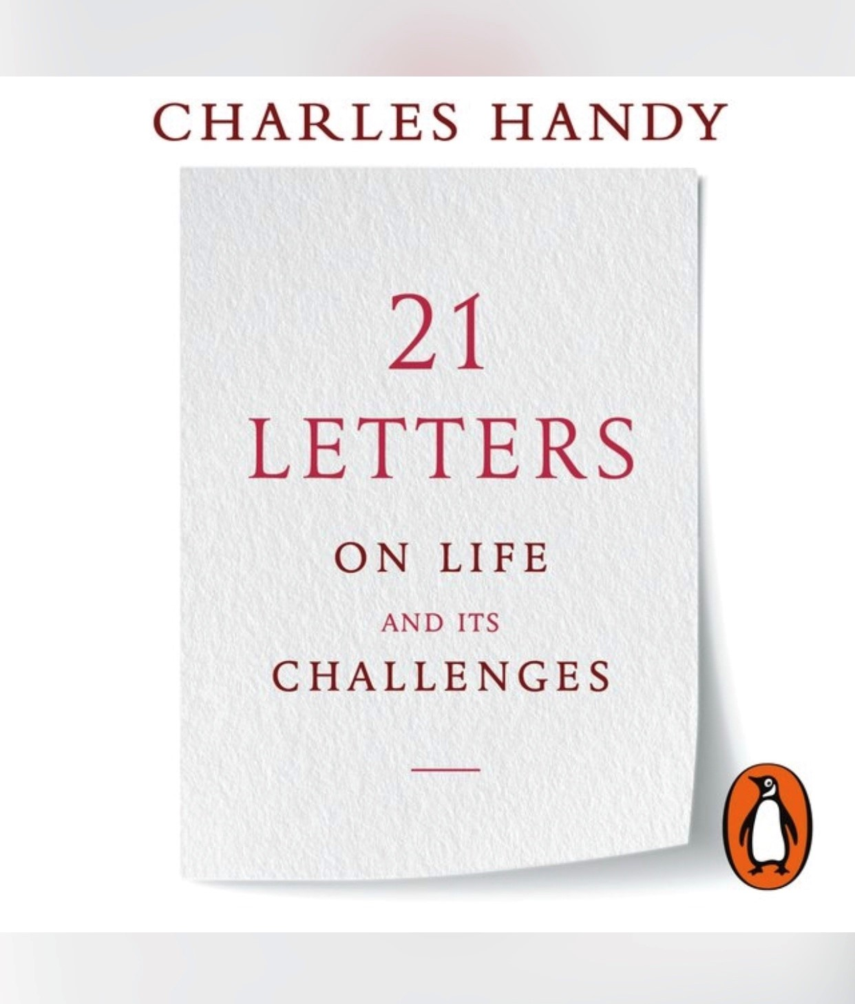 21 letters on life