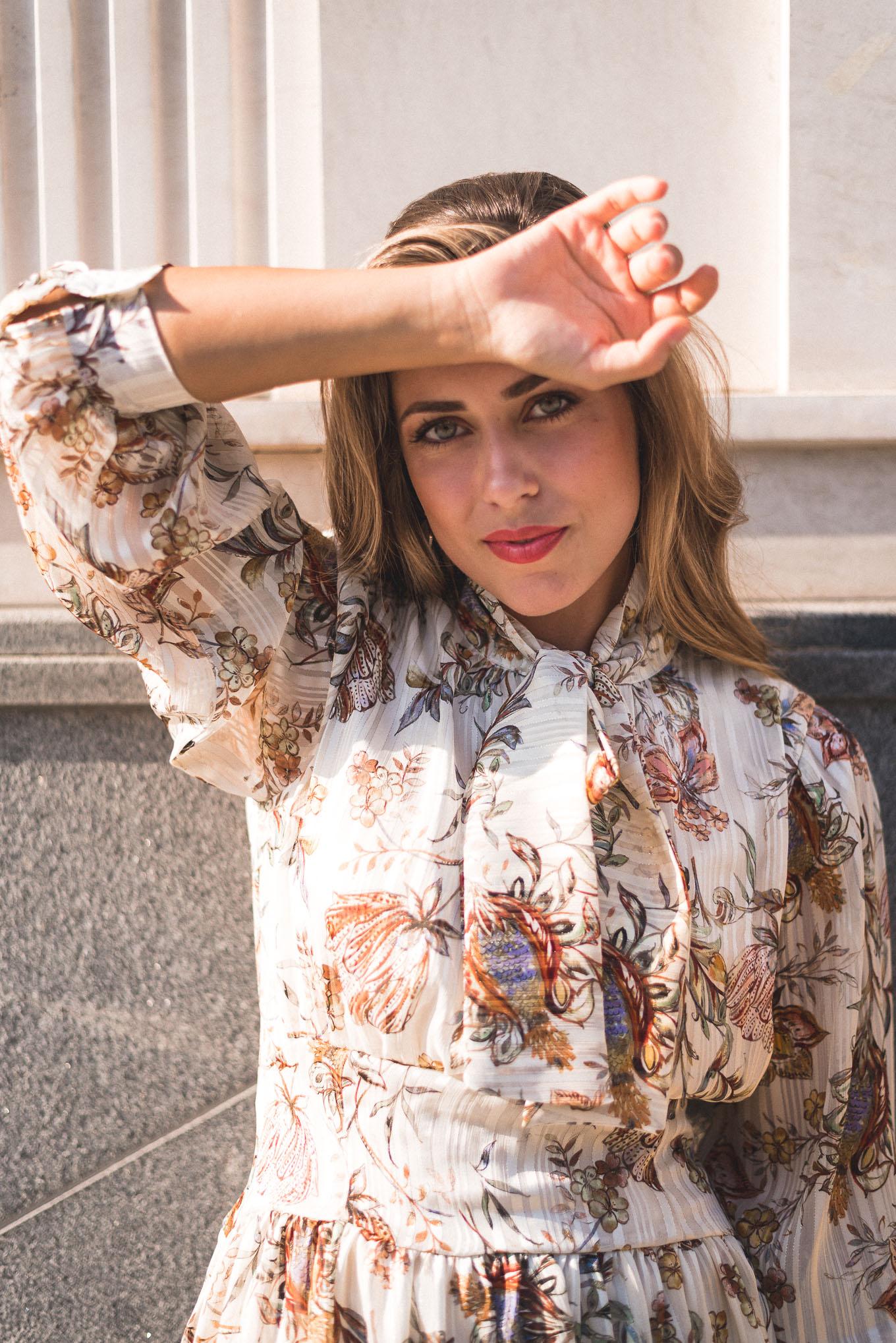 Bourgeois style blogger Denina Martin