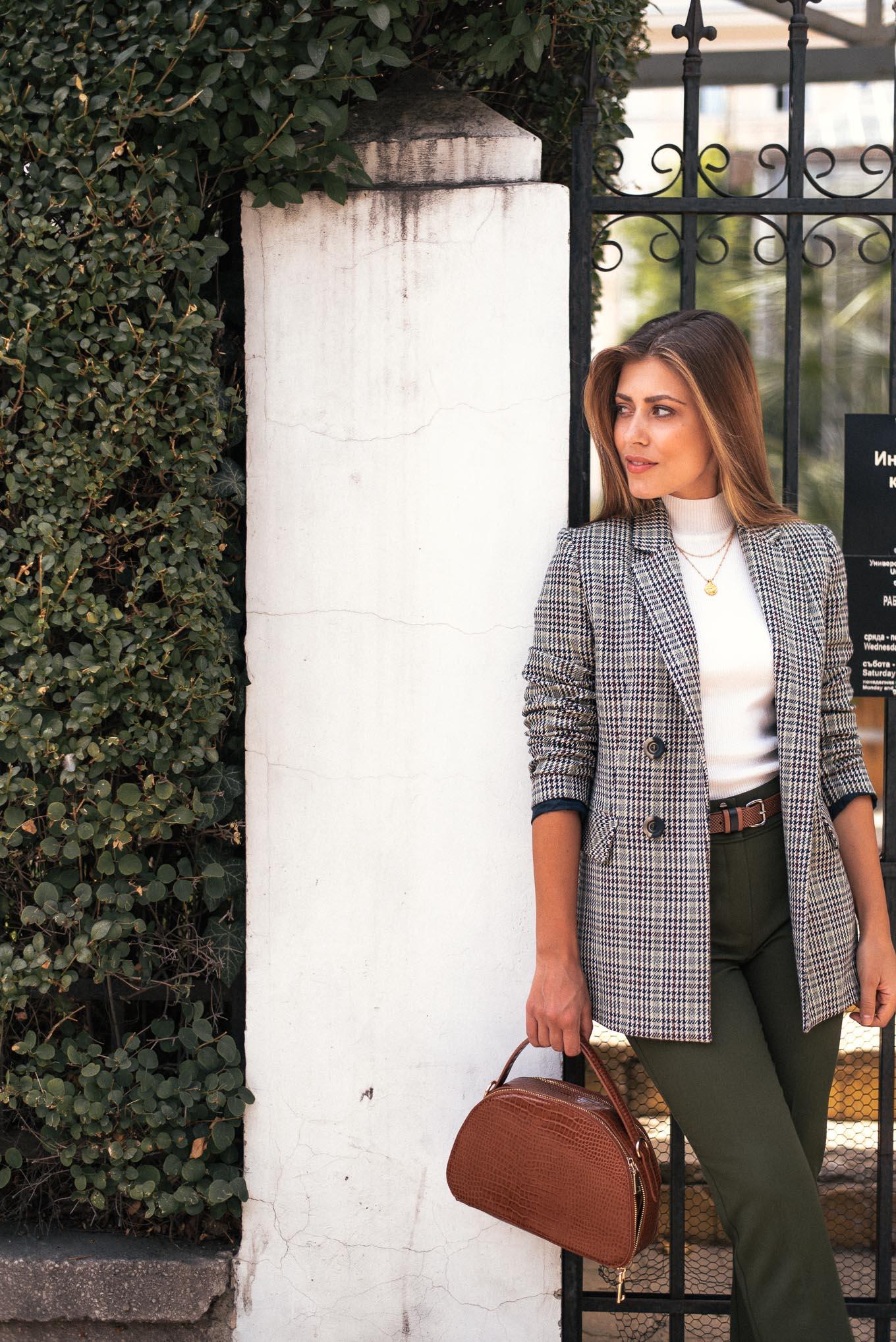 Denina Martin wearing blazer