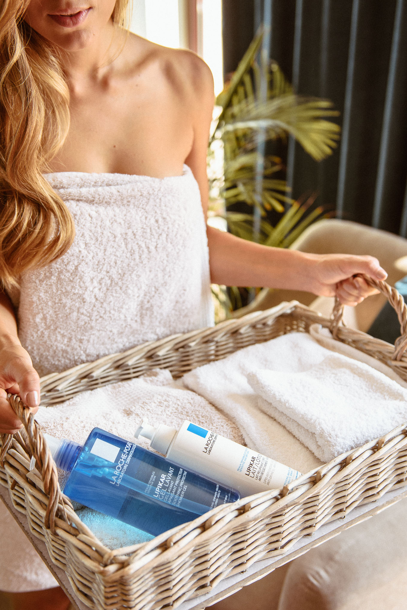 Bodycare from La Roche-posay body lotion