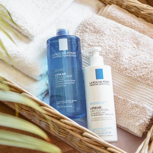 La Roche-Posay for dry skin - At home body skincare - Каква грижа за тялото използвам