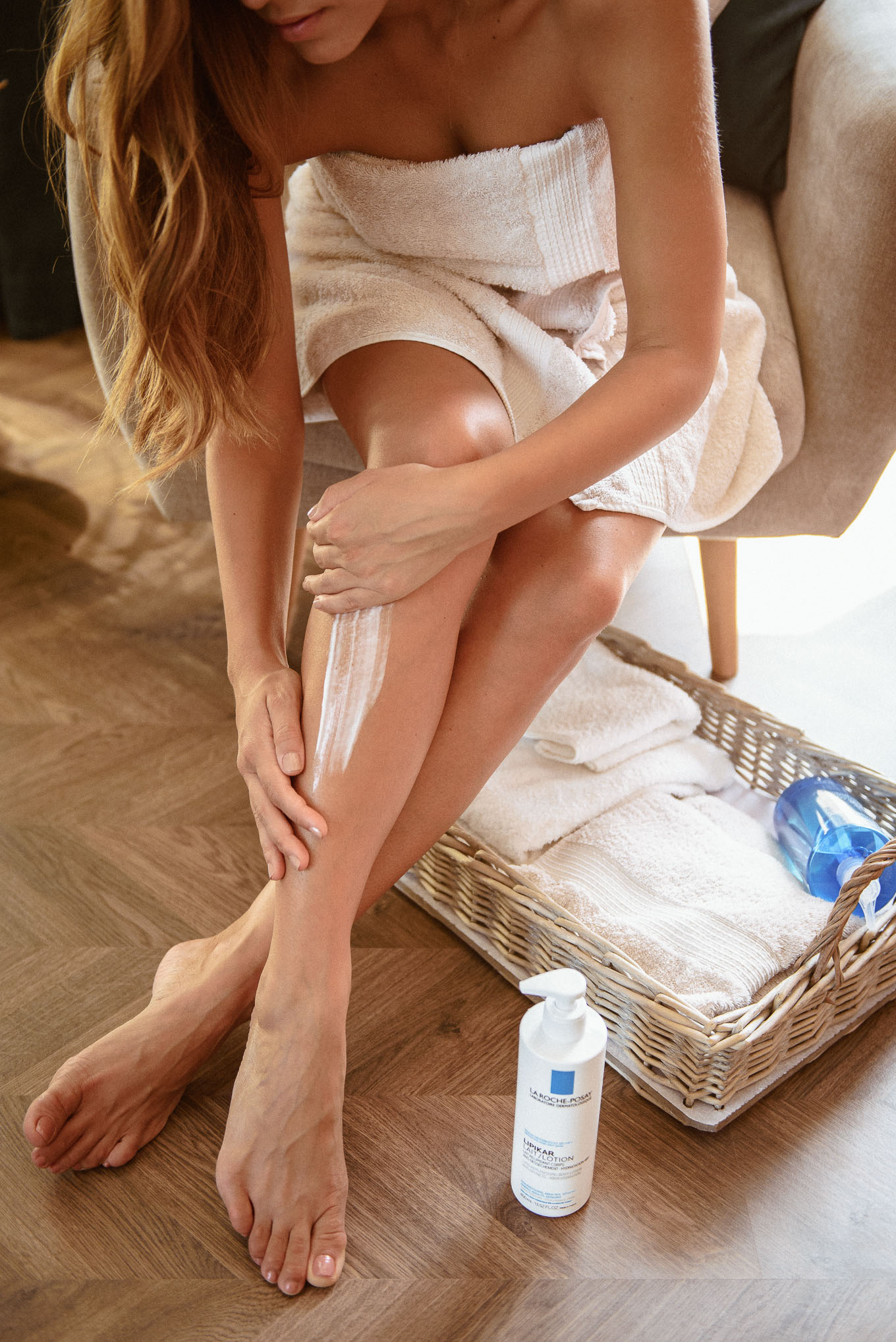 using La roche body Lotion