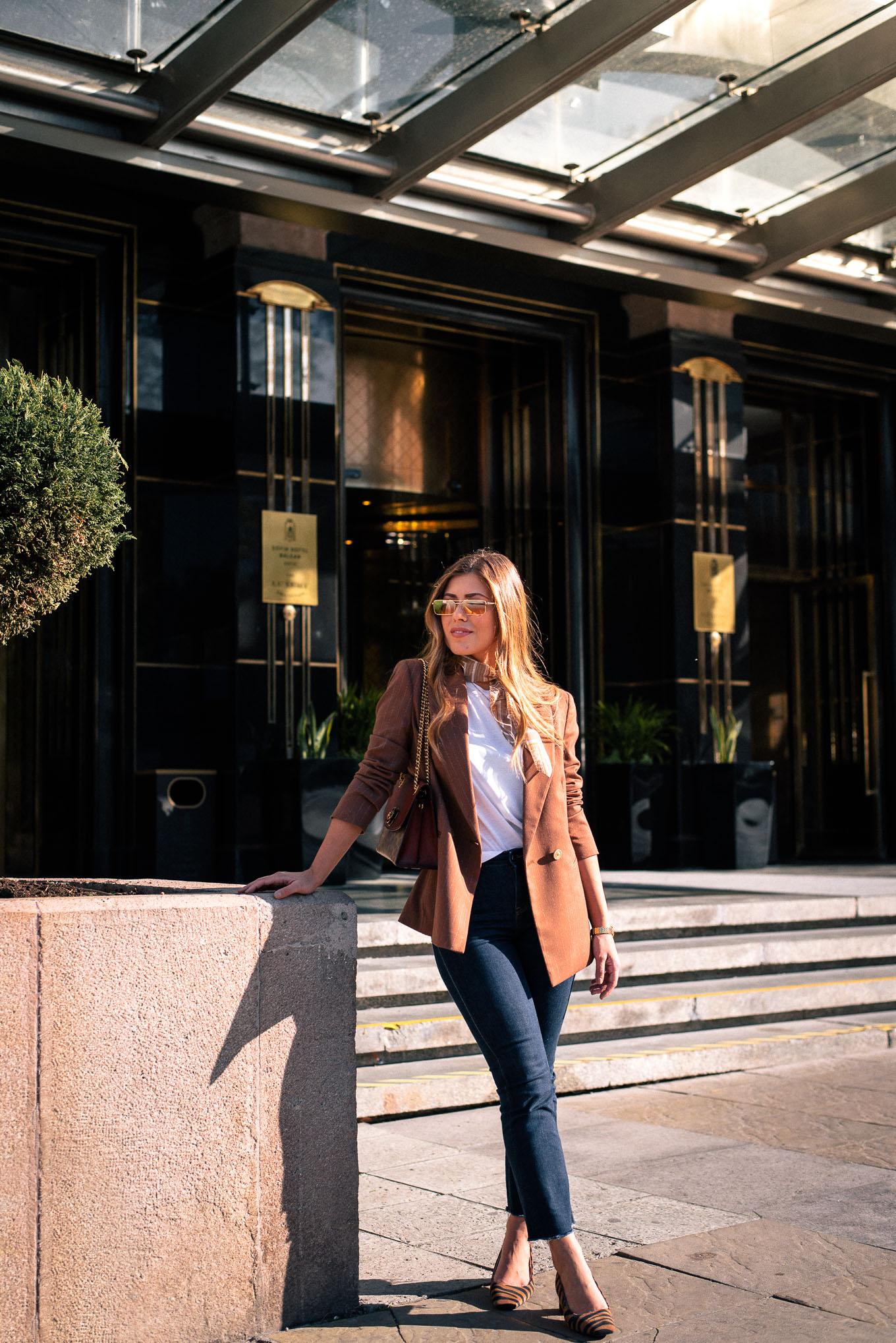 Denina Martin Collection brown blazer