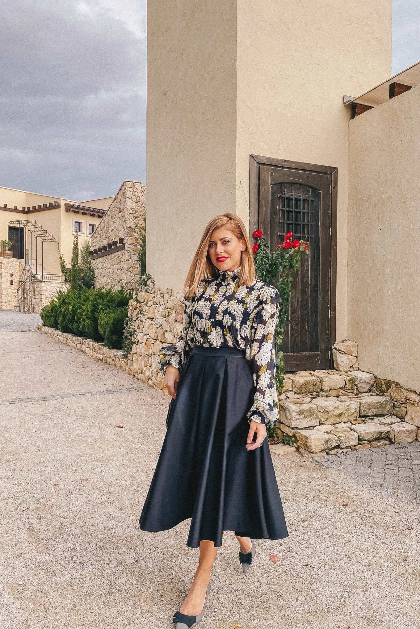 what i wore for an autumn wedding