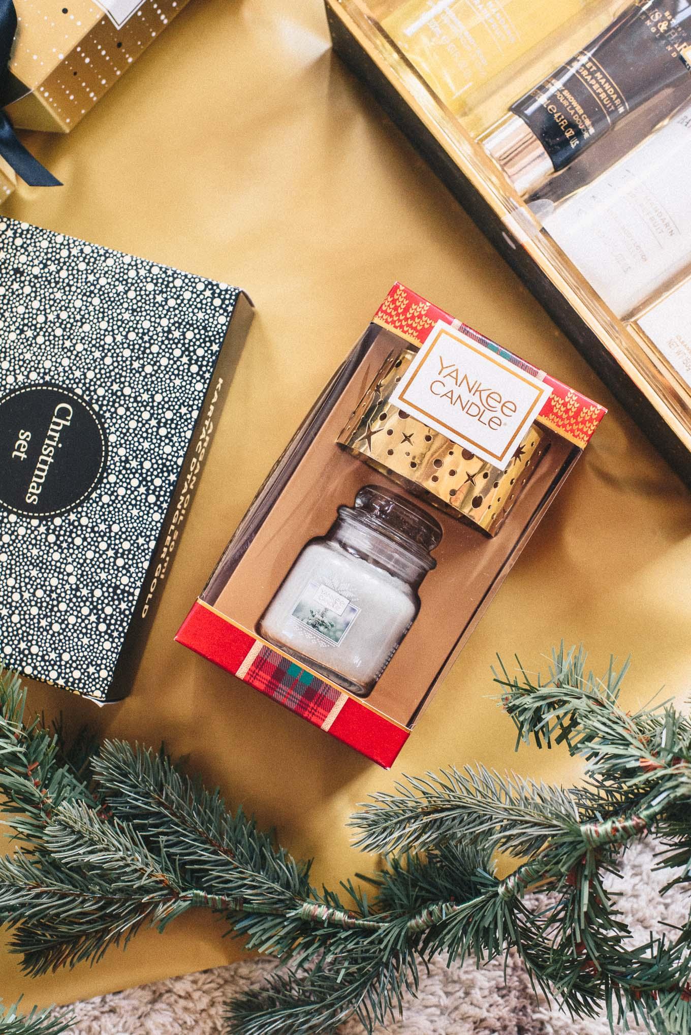 Yankee candle Christmas gift