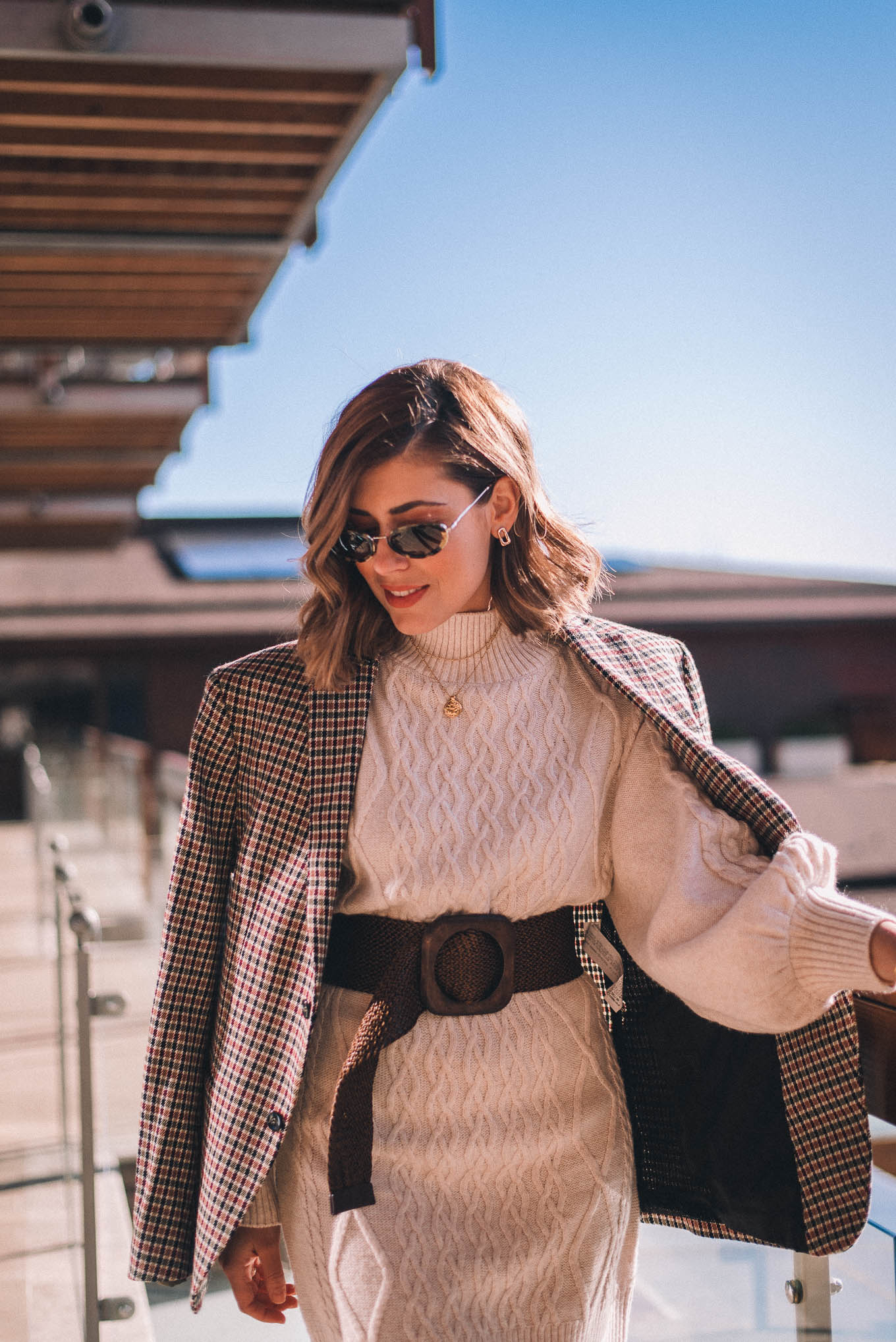 Denina Martin dress with a blazer