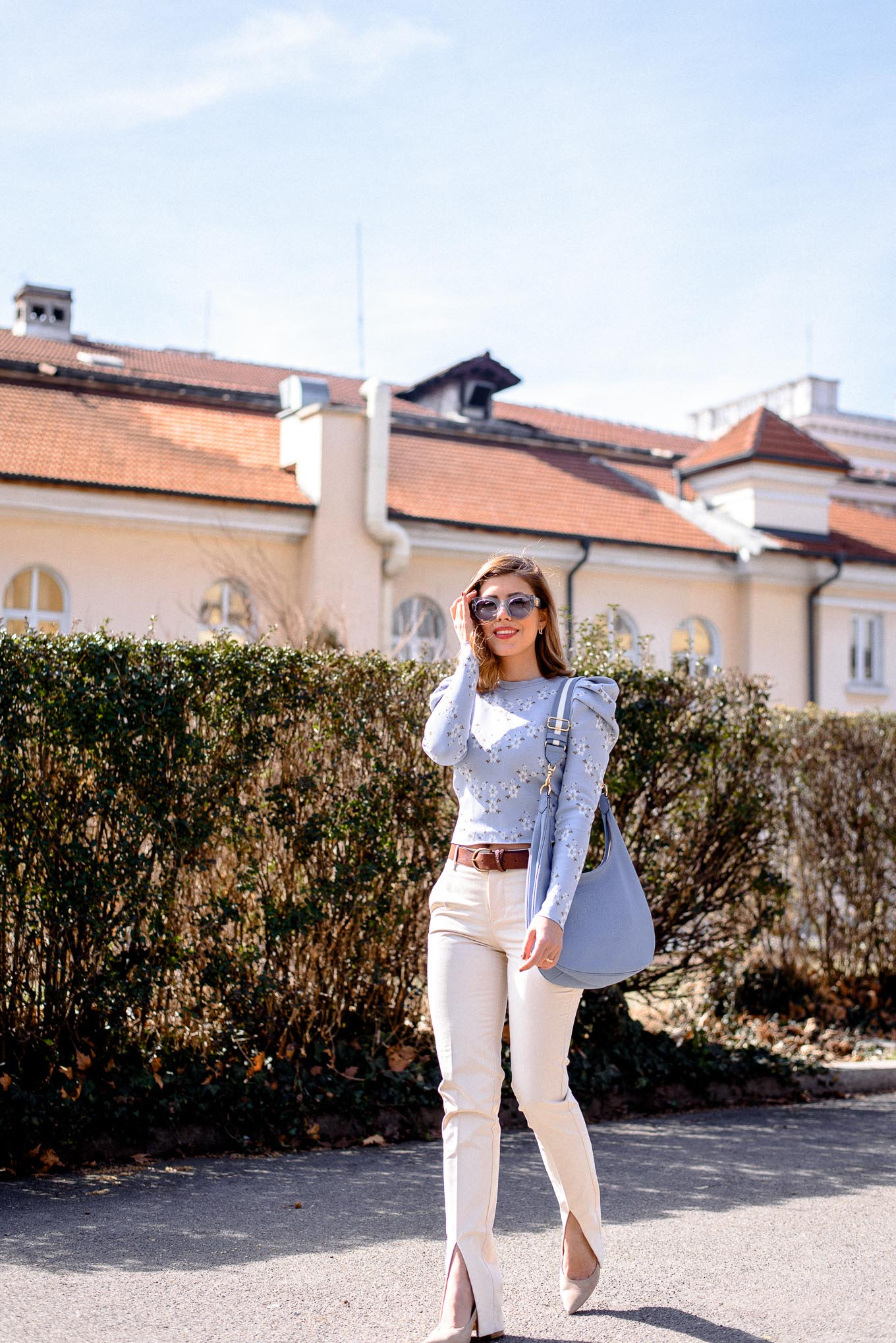 Bulgarian style and fashion blogger wearing Zara