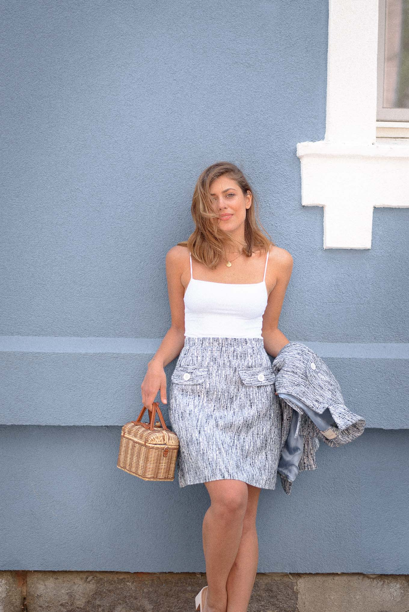 Blue favorite skirt