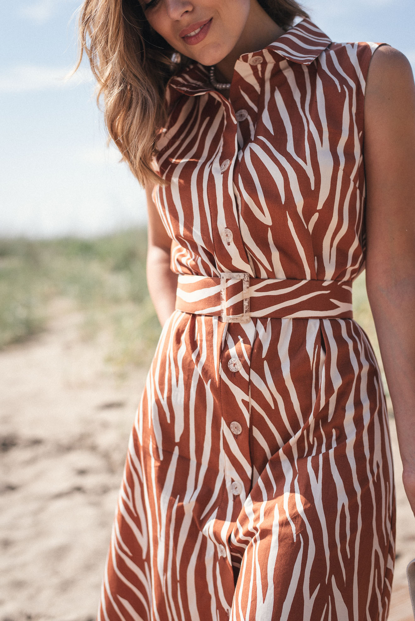 Beach style dress from Denina Martin Collection