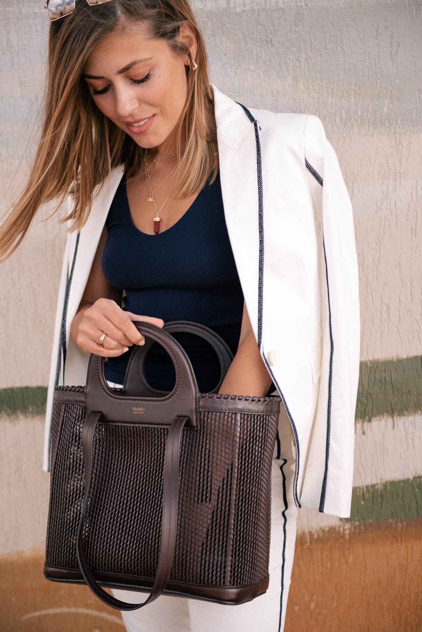 Max Mara hand bag