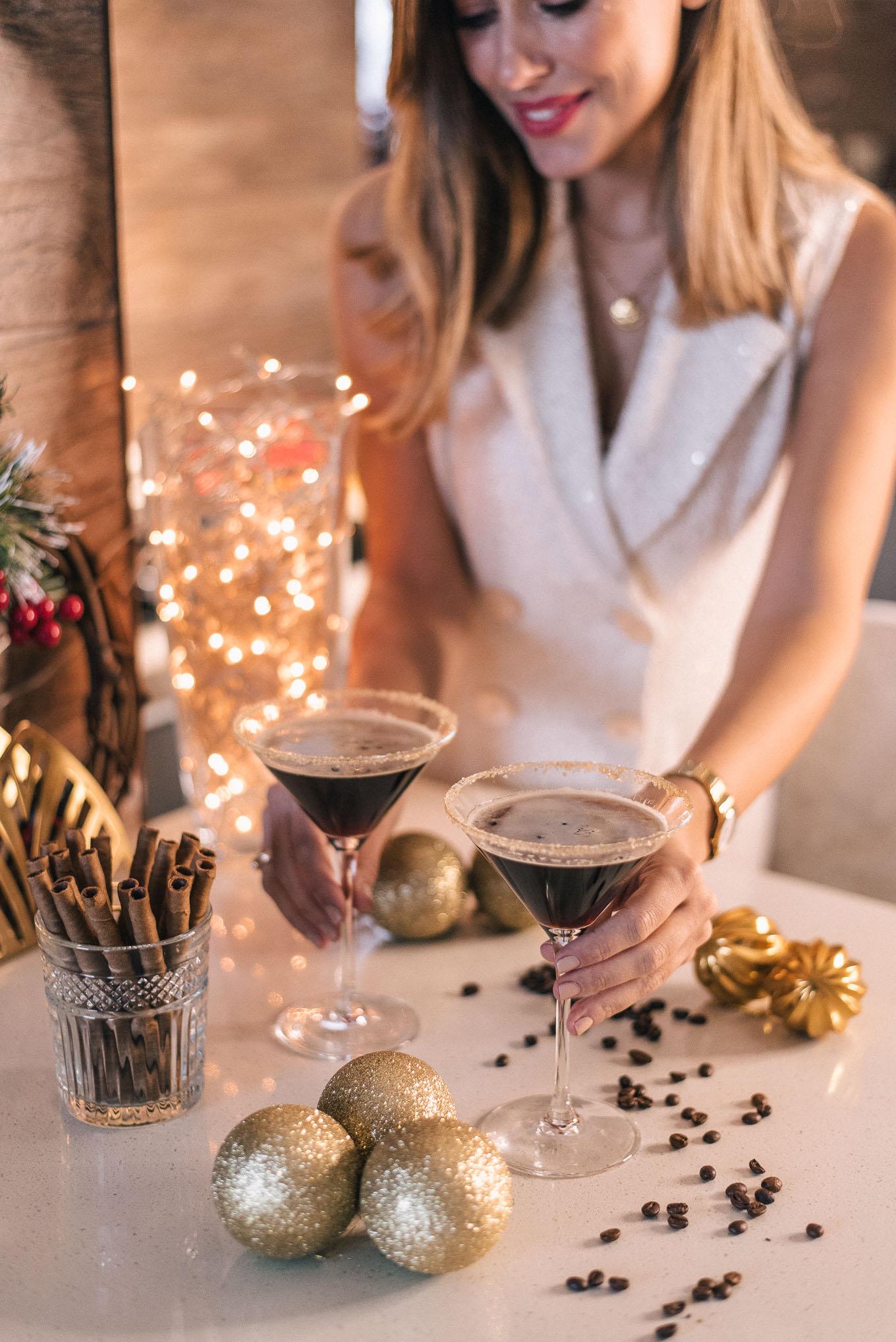 Festive espresso martini