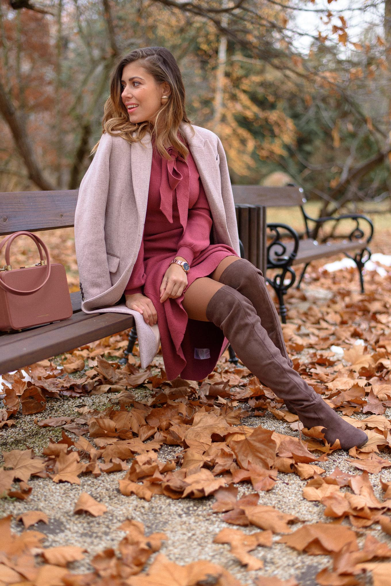 Wearing tosca blu boots