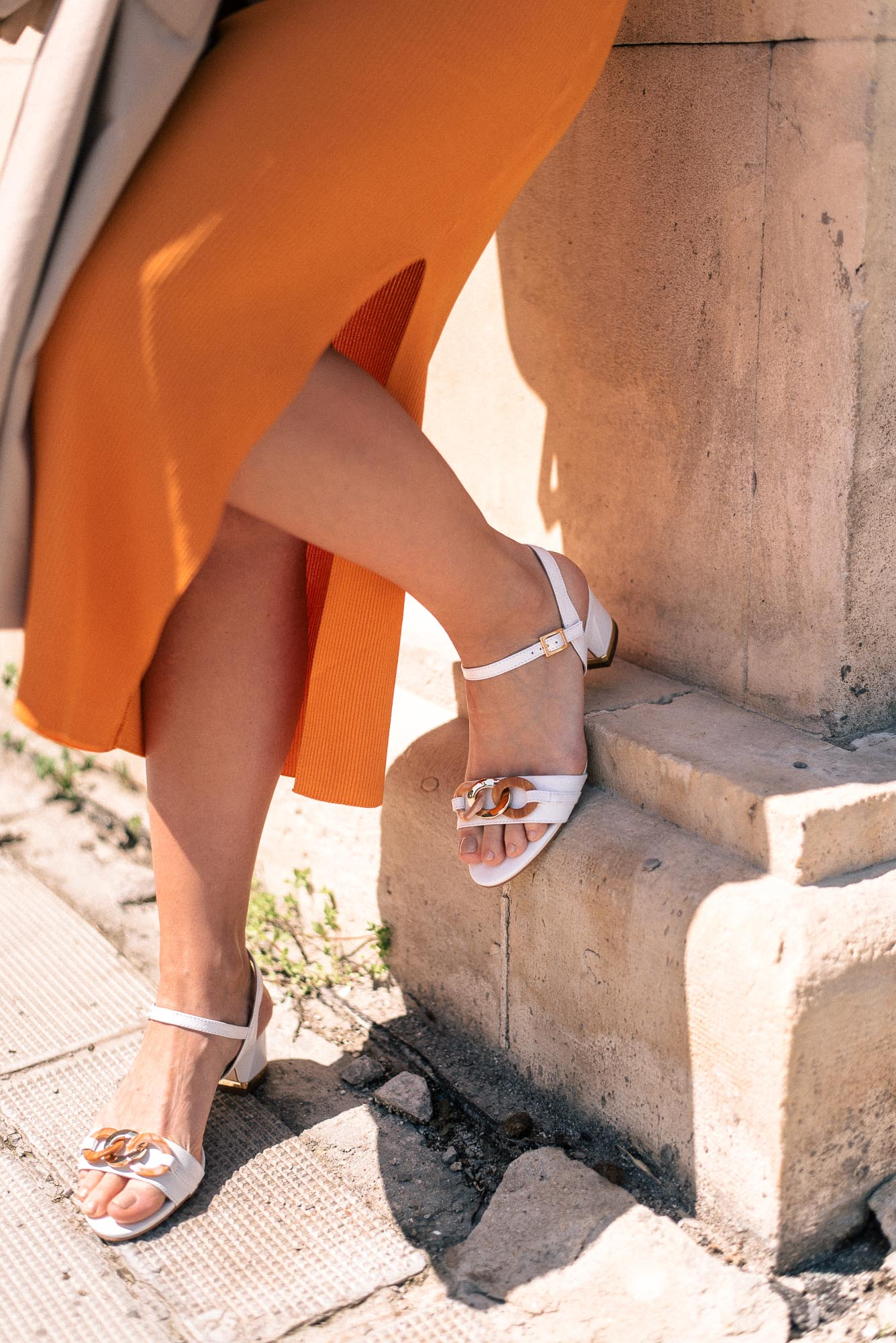 Punto summer sandals