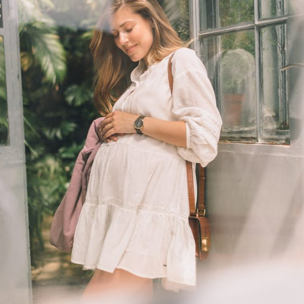 White dress for Spring by Pepe Jeans London