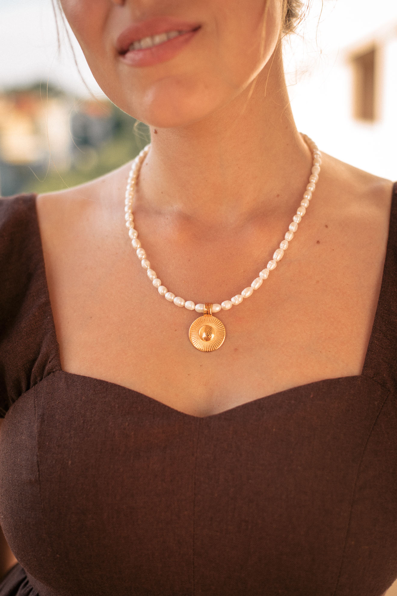 Necklace pendant by Denina Martin