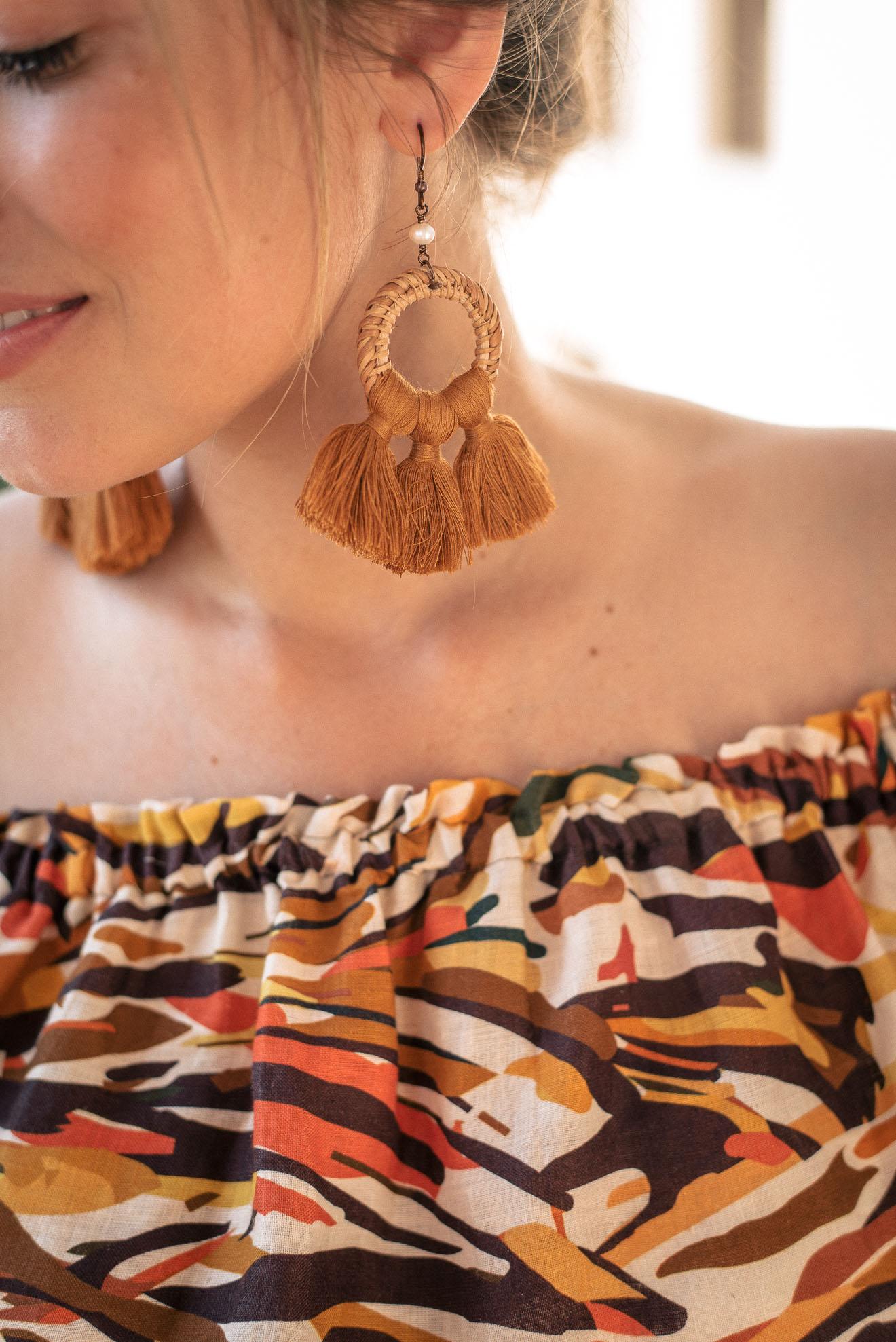 earrings summer hot wave