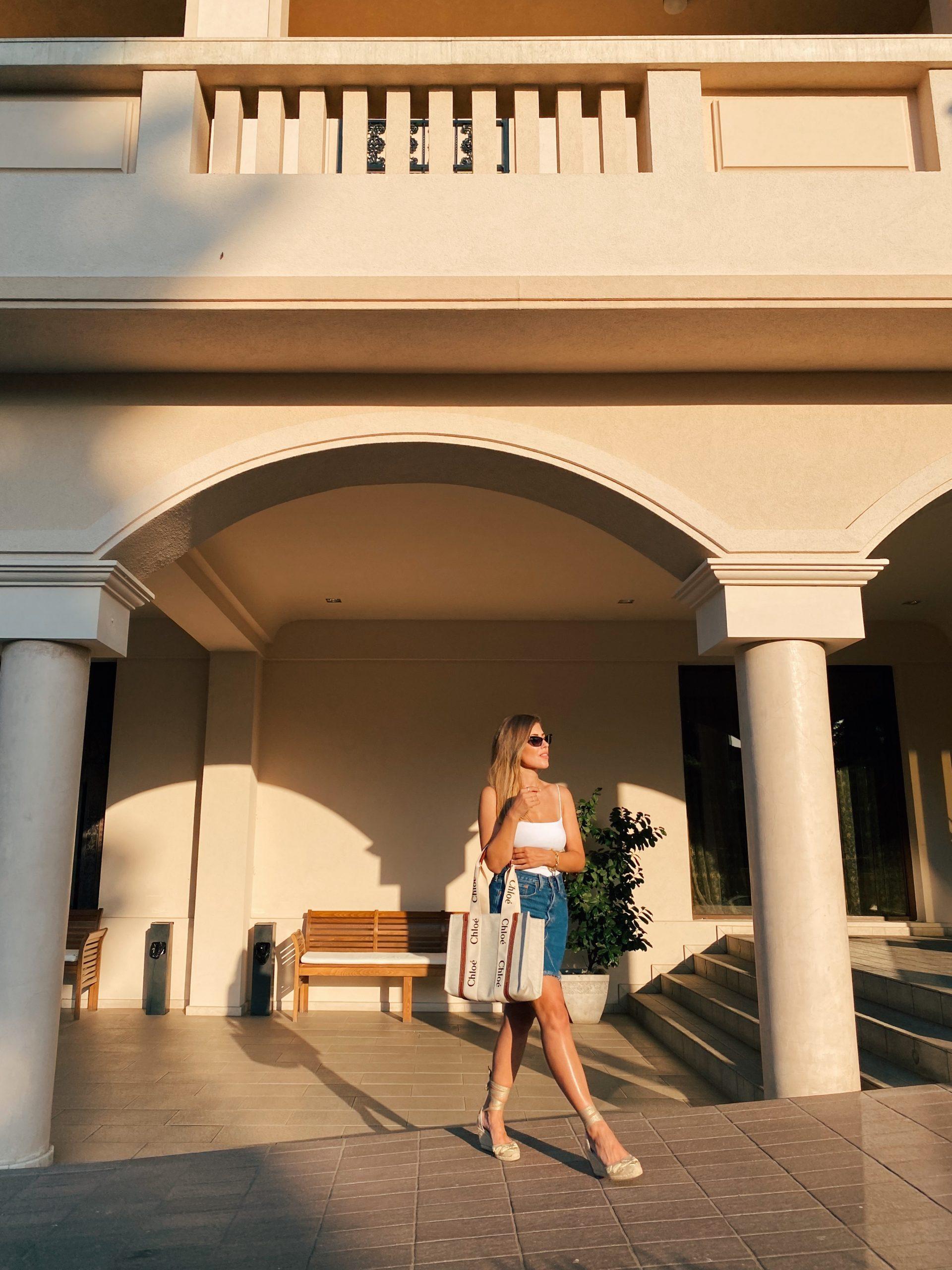 Daily Look 02.08.21 - denim skirt and Chloe bag