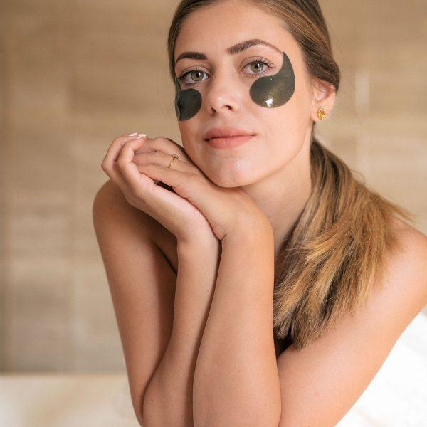 My Gold black pearl eye mask