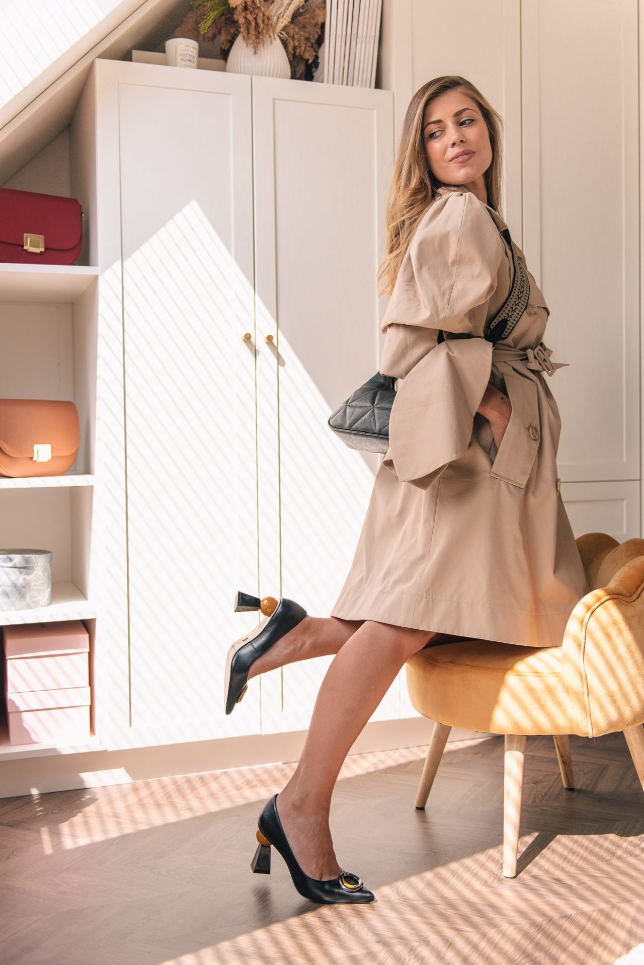 autumn styling ideas for trench coat